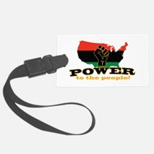 Power To People Luggage Tag