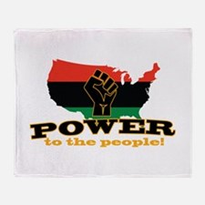 Power To People Throw Blanket