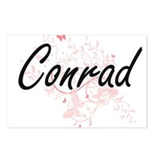 Conrad surname artistic d Postcards (Package of 8)