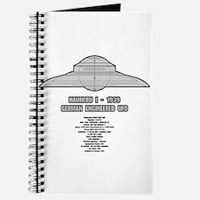 Haunebu I Flying Disc Journal