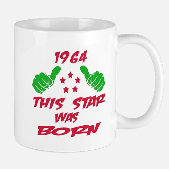 1964 This star was born Mug