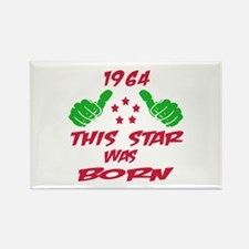 1964 This star was born Rectangle Magnet