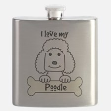Cute Black and white dog photos Flask