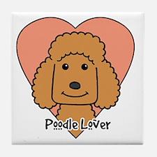 Unique Miniature poodles Tile Coaster