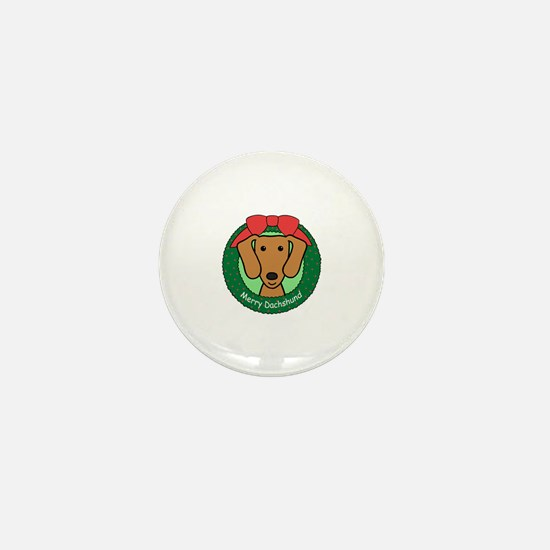 Cute Dachshund Mini Button