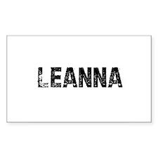 Leanna Rectangle Decal