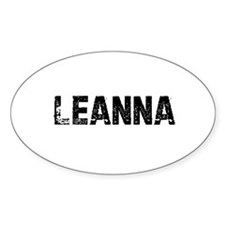 Leanna Oval Decal