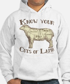 Funny Craft Know your cuts of la Hoodie