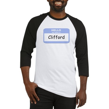 My Name is Clifford Baseball Jersey