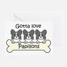 Cool Papillons Greeting Card