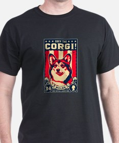 Cute Obey the corgi T-Shirt