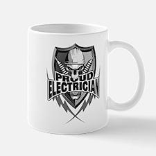 Proud Electrician Skull Mugs