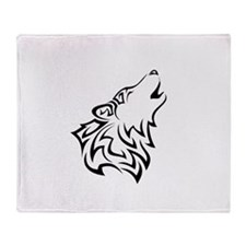 Wolves Throw Blanket
