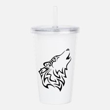 Wolves Acrylic Double-wall Tumbler