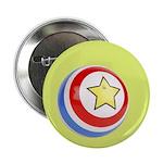 Toy Ball Vintage Print Button