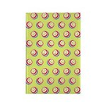 Toy Ball Vintage Print Rectangle Magnet (100 pack)