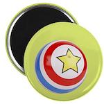 "Toy Ball Vintage Print 2.25"" Magnet (10 pack)"