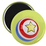 "Toy Ball Vintage Print 2.25"" Magnet (100 pack)"
