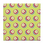 Toy Ball Vintage Print Tile Drink Coaster