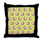 Toy Ball Vintage Print Throw Pillow