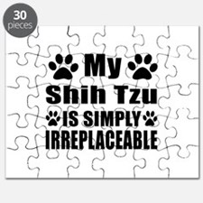 Shih Tzu is simply irreplaceable Puzzle