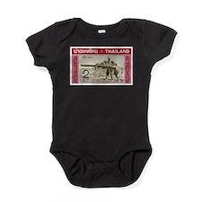 Cute Vintage stamp Baby Bodysuit