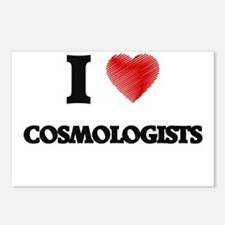 I love Cosmologists (Hear Postcards (Package of 8)