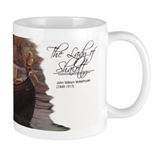 The Lady of Shalott mug Mugs
