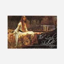 The Lady of Shalott magnet Magnets