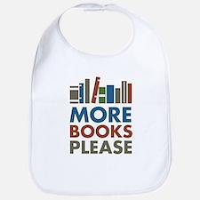 More Books Please Bib