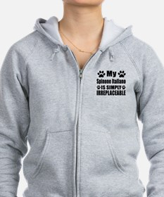 Spinone Italiano is simply irre Zip Hoodie