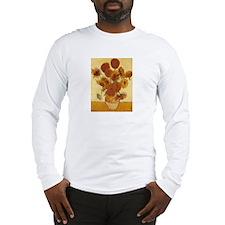 15 Sunflowers Long Sleeve T-Shirt