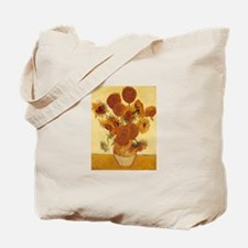 15 Sunflowers Tote Bag