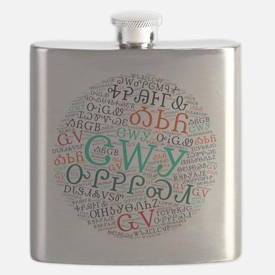 Funny Cherokee Flask