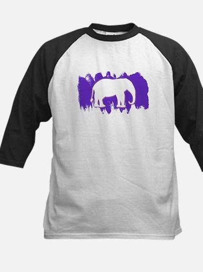 Purple Elephant Baseball Jersey