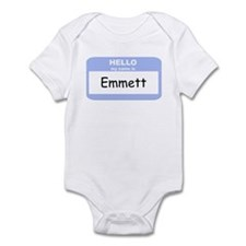 My Name is Emmett Infant Bodysuit