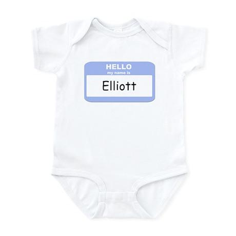 My Name is Elliott Infant Bodysuit