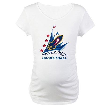 Rockets Bball Big Maternity T-Shirt