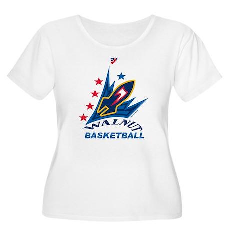Rockets Bball Big Women's Plus Size Scoop Neck T-S