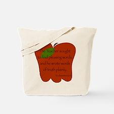 Ecclesiastes 12:10 Tote Bag