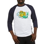 Kitty Mermaid Baseball Jersey