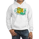 Kitty Mermaid Hooded Sweatshirt