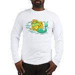 Kitty Mermaid Long Sleeve T-Shirt
