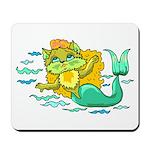 Kitty Mermaid Mousepad
