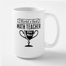 World's Best Math Teacher Mugs