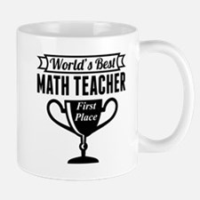 World's Best Math Teacher Mugs