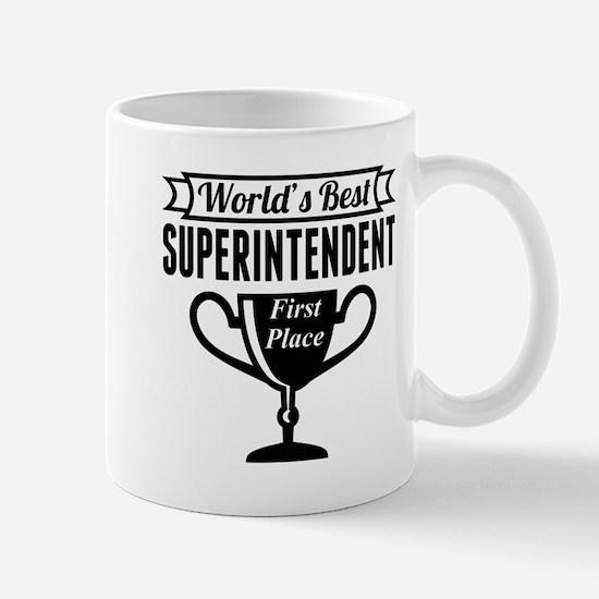 World's Best Superintendent Mugs