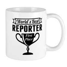 World's Best Reporter Mugs