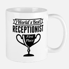 World's Best Receptionist Mugs
