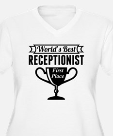 World's Best Receptionist Plus Size T-Shirt